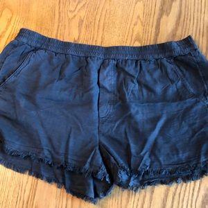 Dark gray AERIE soft shorts